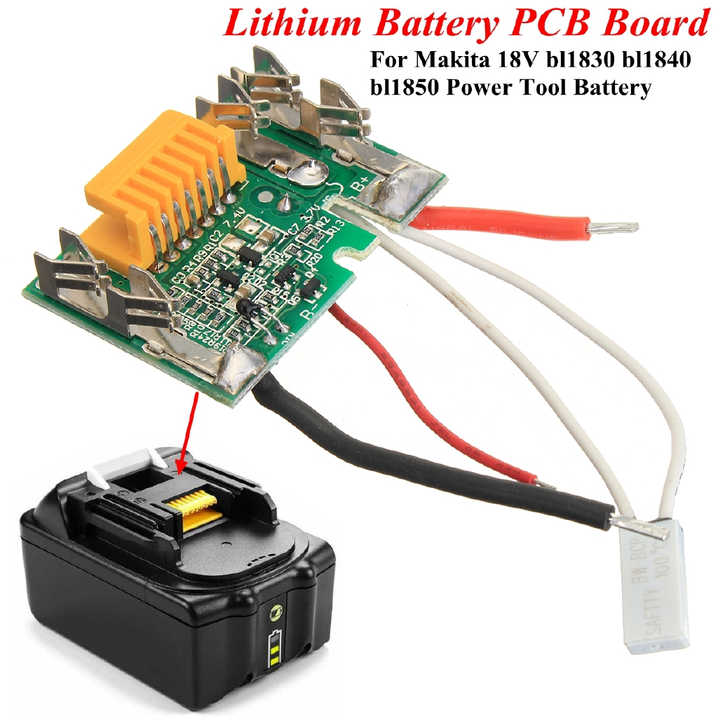 18v Battery Chip Pcb Board Replacement For Makita Bl1830 Bl1840 Wiring Bl1850 Lxt400 Shopee Malaysia