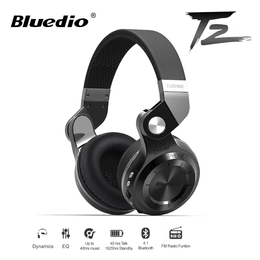 4b59269b222 Bluedio T3 Plus Bluetooth 4.1 Headset 3D with Mic SD Card Slot Volume  Control | Shopee Malaysia