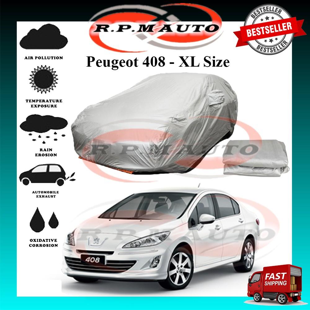 Peugeot 408 High Quality Yama Car Covers - Size XL (490x180x119cm) selimut kereta peugeot car cover peugeot