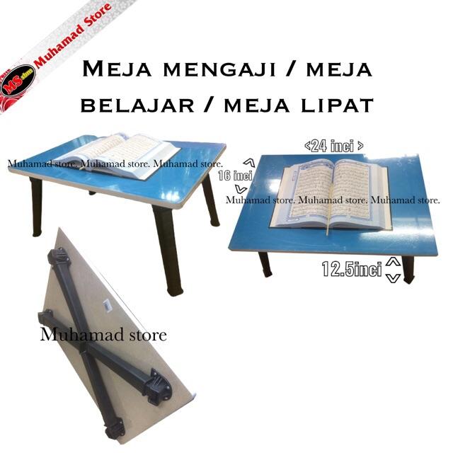 Muhamad Store Meja Mengaji / Meja Belajar / Meja Lipat