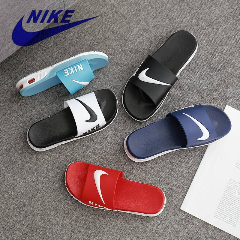 best authentic 12a5f 42a4d NIKE AIR Original Men And Women Couple Slippers Sandals Comfortable Cool  Summer Shoes Casual Shoes