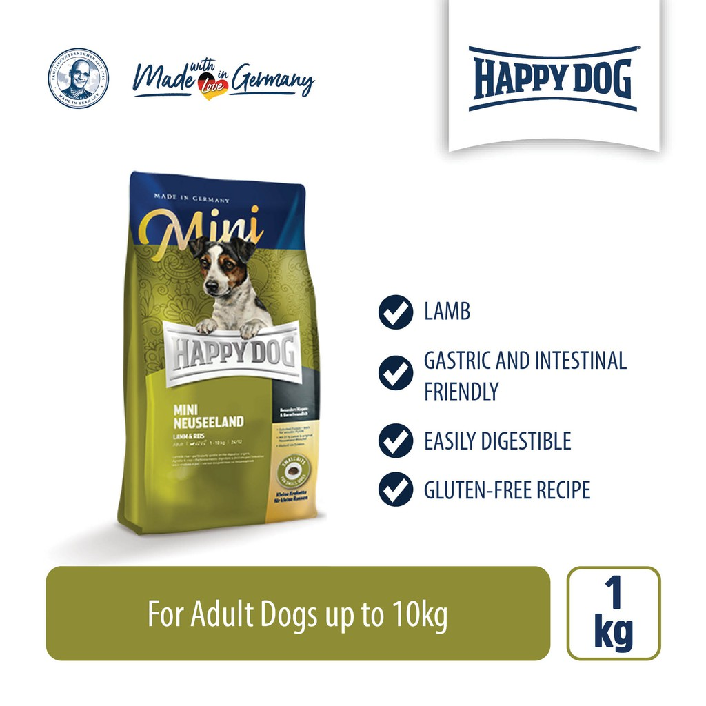 Happy Dog Supreme Mini Neuseeland (1kg)