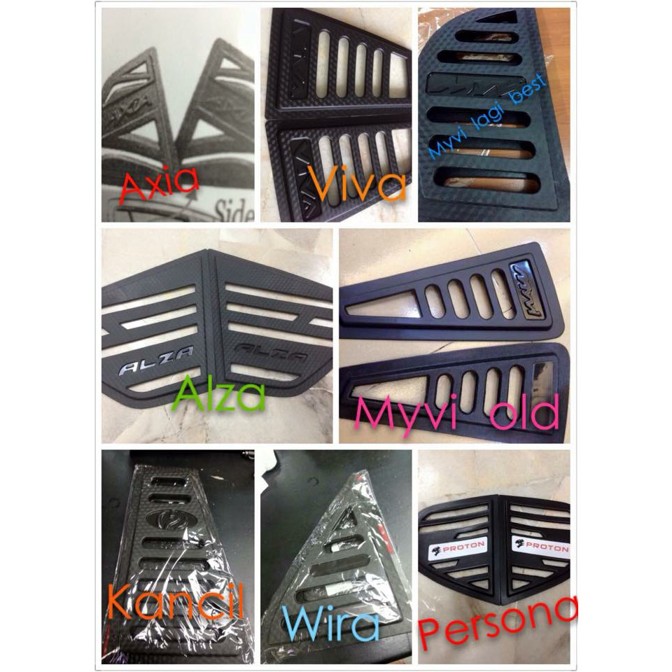 ** READY STOCK ** Car Window Cover Carbon