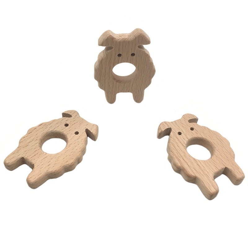 Goat 1 Diy Jewelry Accessories Beech Animal Goat Crafts