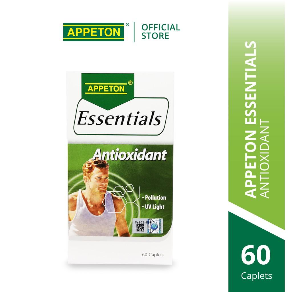 APPETON Essentials Antioxidant for Immunity & Boost Health (60's)