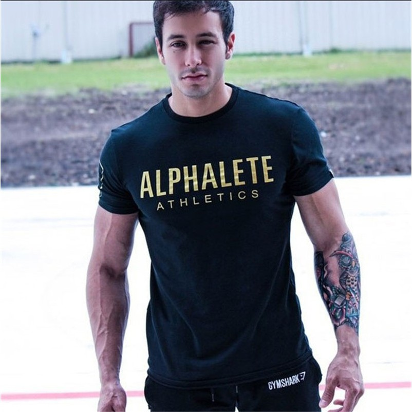 52a85bdf Army Green Cotton Slim Long Sleeves T Shirts Gym Tshirt Boy Muscle Mens  Baju   Shopee Malaysia