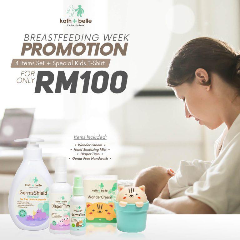 Kath + Belle Breastfeeding Week Promotion