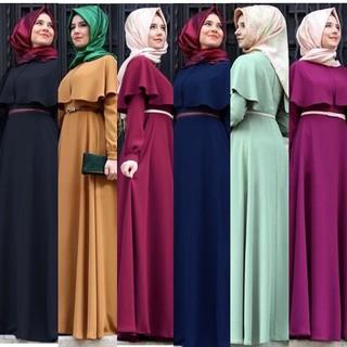 cbd0d932501f6 Women Muslim Lady Malaysia dress long maxi Islamic dress turkey arab ...