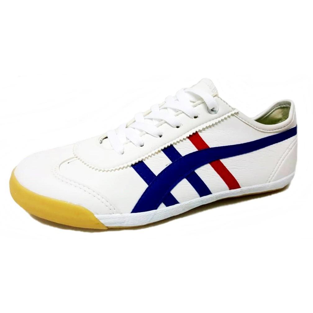 Kasut Futsal Leo Pando White / Blue