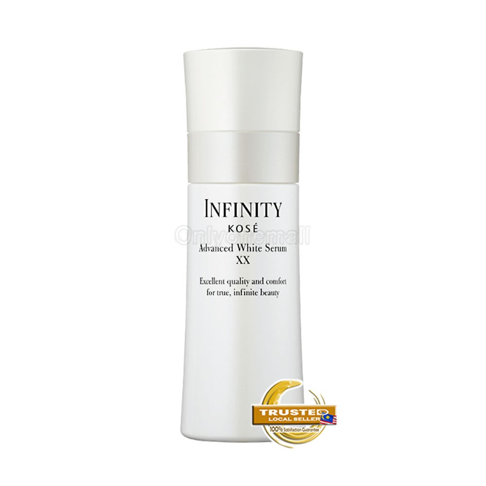 KOSE Infinity Advanced White Serum XX 120ml with Free Gift
