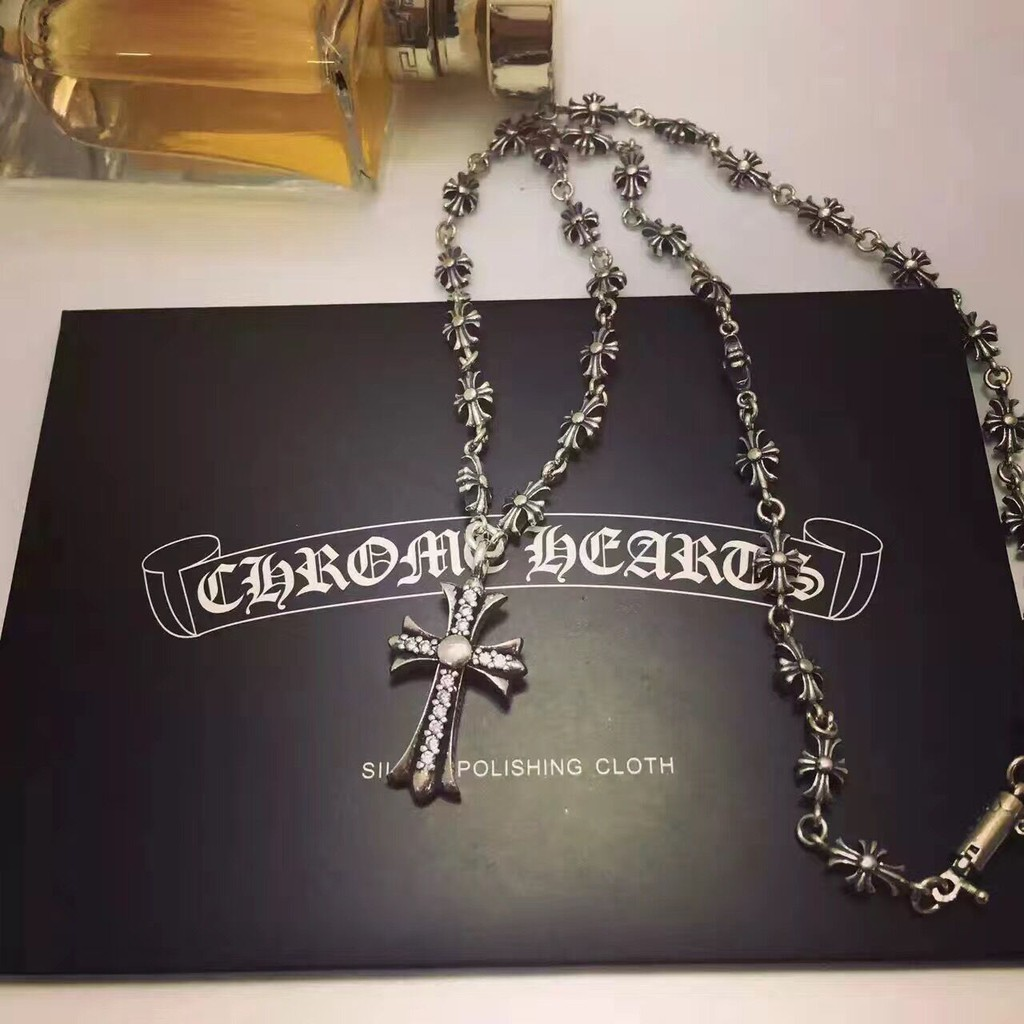 a8b53d204acc Chrome hearts 925 Sterling silver necklace