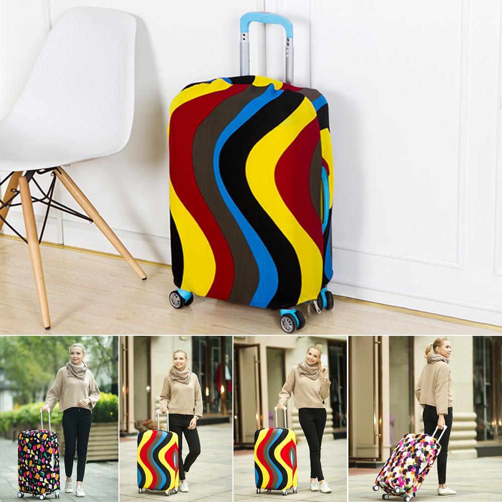 ถุงคลุมกระเป๋าเดินทาง ป้องกันฝุ่น สำหรับท่องเ