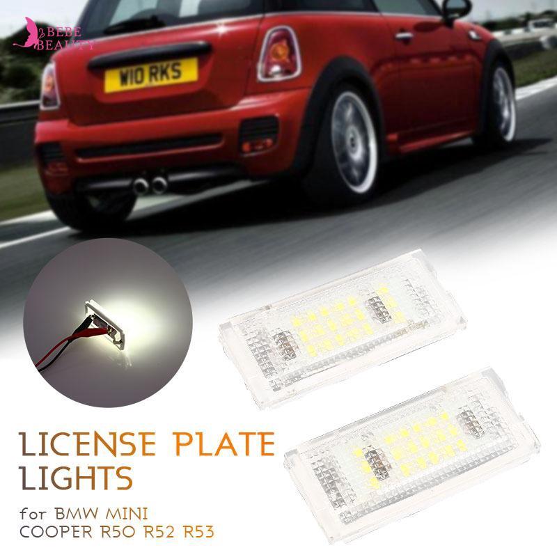 2X RGB LED Door Courtesy Shadow Light Lamp for Mini Cooper R50 R52 R53 R56 R57