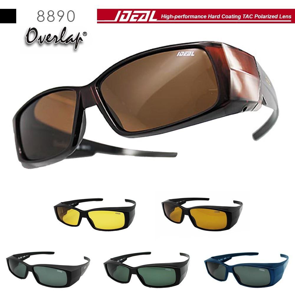 602d3733099 READY STOCK 4GL Ideal 8834 Holbrook Polarized Sunglasses (Frame Shine  Black)