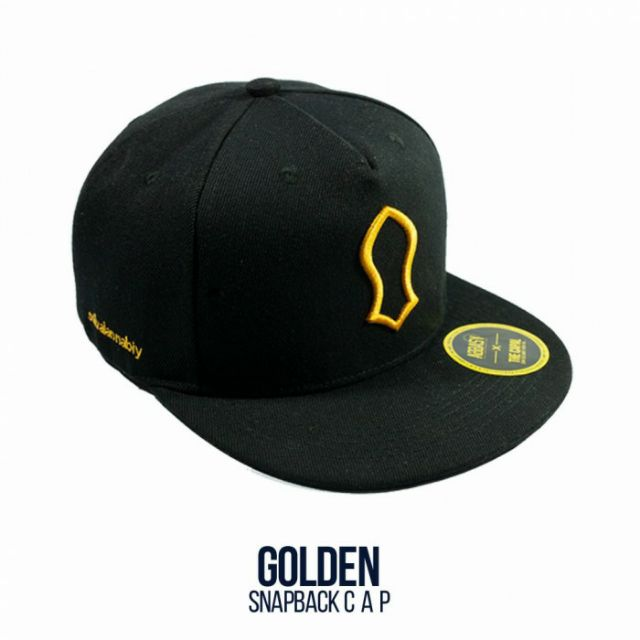 53dc21d00 Ready Stock! The Capal - Snapback Cap Golden Mawlid