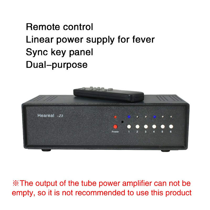4 Input 4 Output Remote Panel