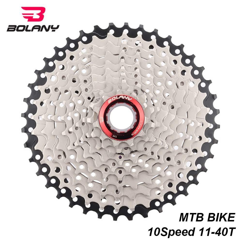 Bolany MTB Cassette 10 Speed Sprocket Freewheel Gear Ratio