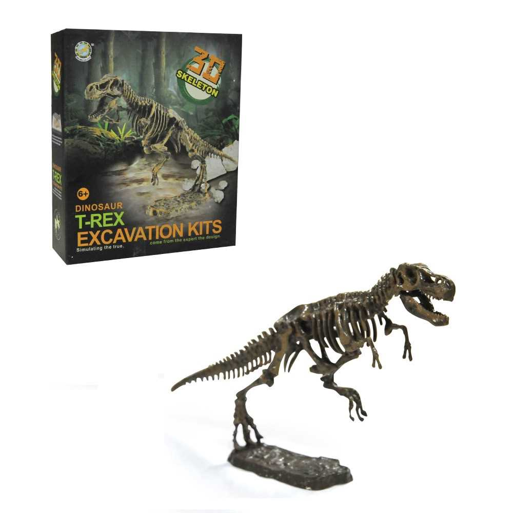 Ultimate Dinosaur Science Kit Dig Up Dinosaur And Assemble A T Rex