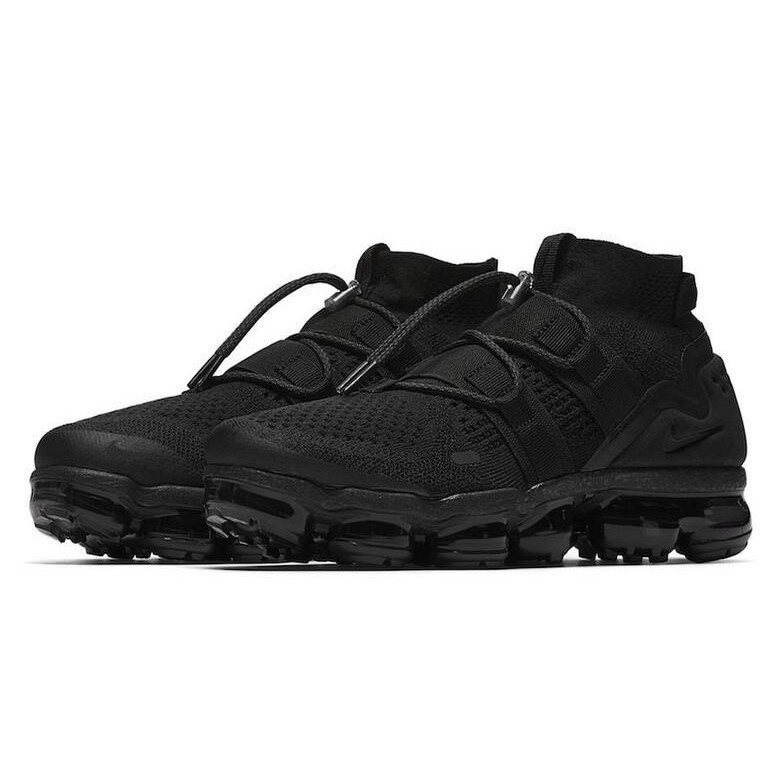finest selection cfee6 f63db Nike Air VaporMax Utility Triple Black For Sale