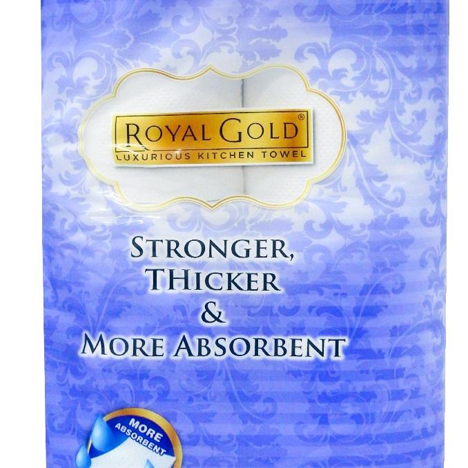 Royal Gold Kitchen Towel (55s x 8 Rolls)