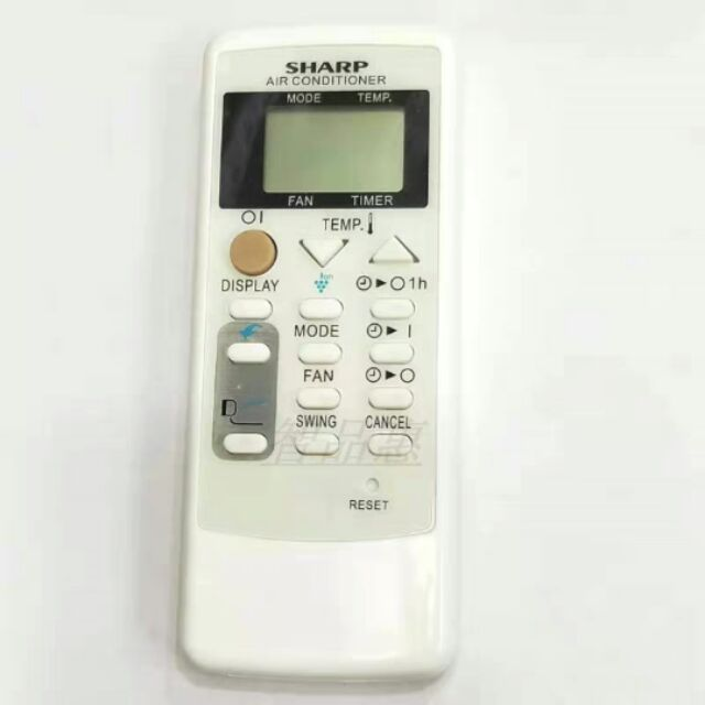 Sharp remote with holder (air-cond)