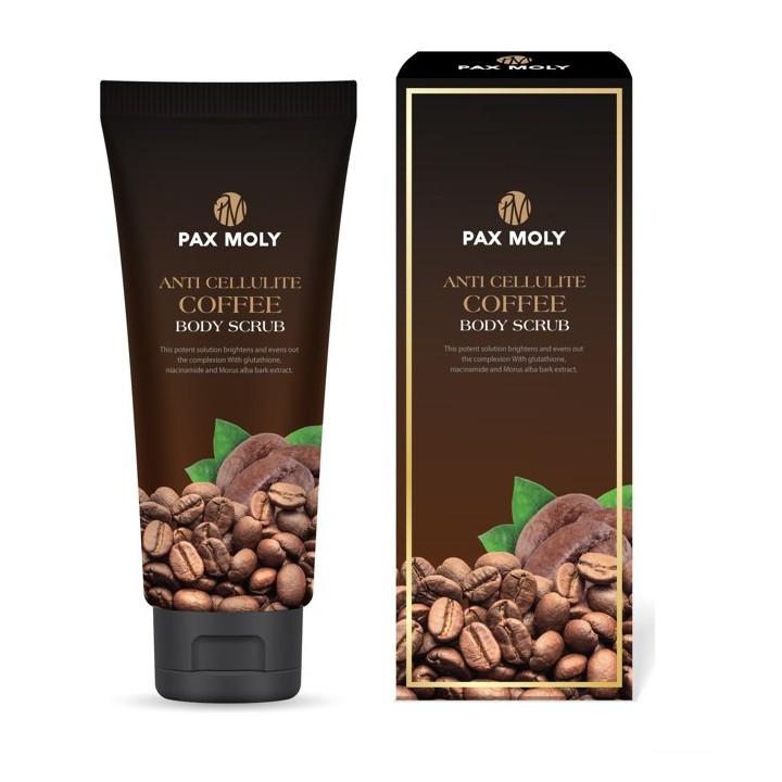 PAX MOLY Anti Cellulite Coffee Body Scrub