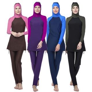 61f1f7c2b36 Fashion Muslimah Swimming Suit baju renang biru Muslimah clothes | Shopee  Malaysia