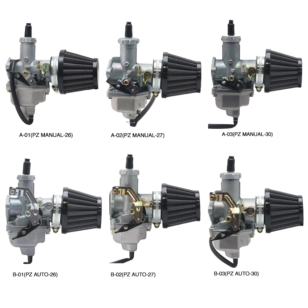 PZ26/27/30Motorcycle Carburetor Used For CG125 CG150 CG200 TTR250 W/air  filter