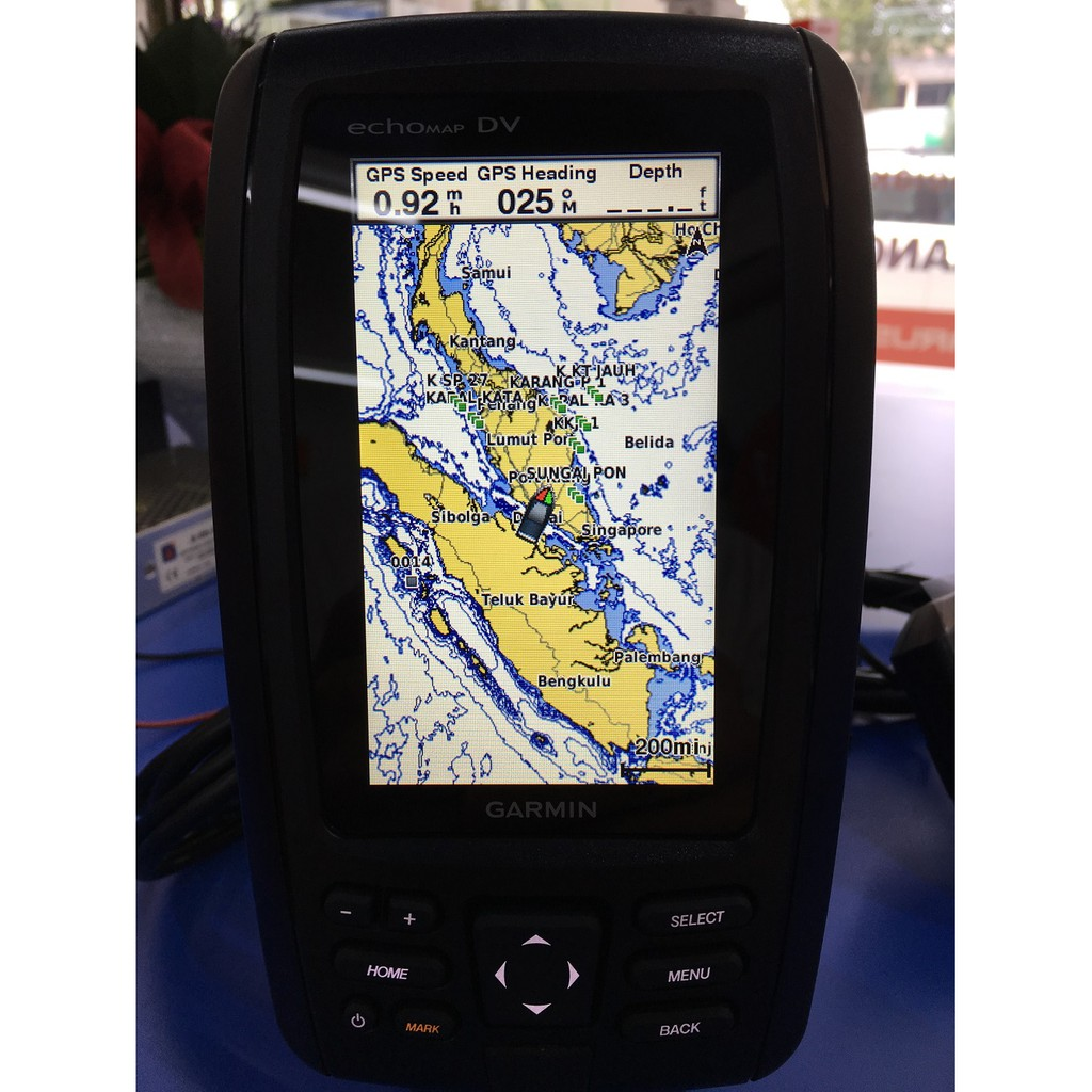 Garmin echoMAP Chirp 45cv Marine GPS Chartplotter ClearVu