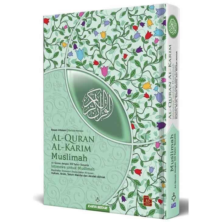 Al Quran Pelangi Muslimah A5 KARYA BESTARI