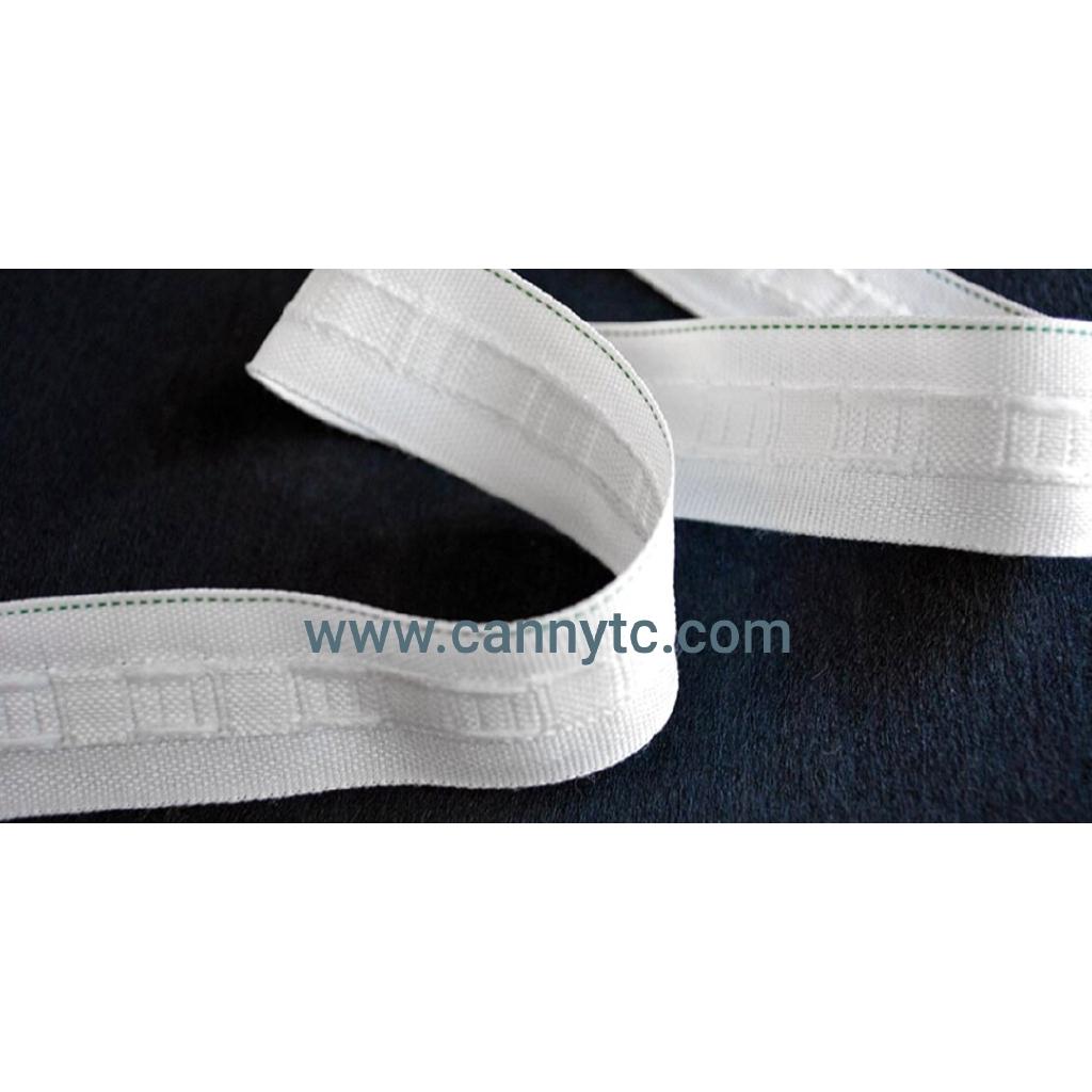 Pita Langsir Tarik Benang / Pencil Pleat Curtain Tape 1 Inch Width (1 Roll - 45 Meter)