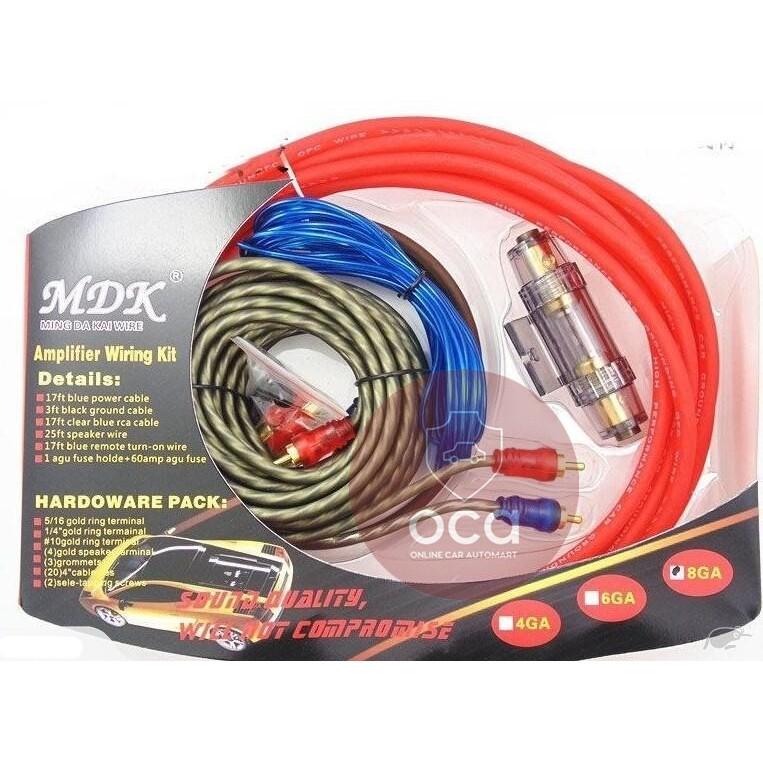 sicherungen & sicherungshalterungen 1000 watt 8 awg gauge car audio amplifier  amp wiring kit rca fuseholder & fuses si-consultancy.com  si-consultancy.com