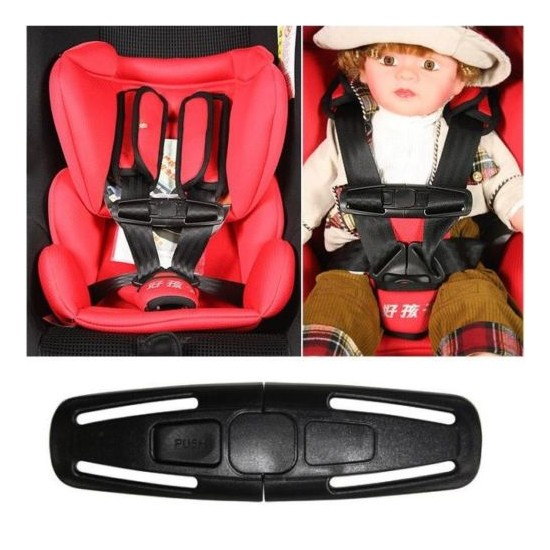 Baby Kids Infants Child Car Safety Seat Strap Belt Lock Buckle Latch Chest Clips