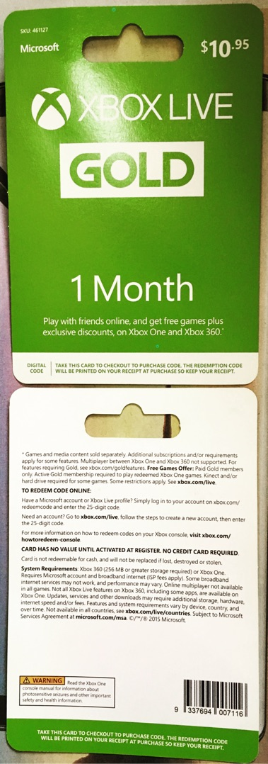 Xbox Live Gold Membership (Digital Code) 1 Month x 2 | Shopee Malaysia