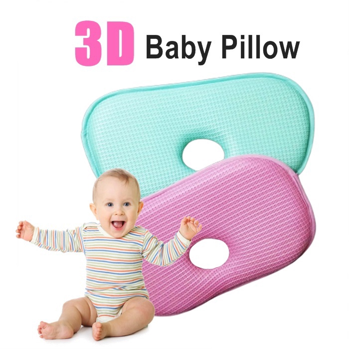 Baby Head Shaping Pillow Nursery Pillows Newborn Prevent Flat Syndrome