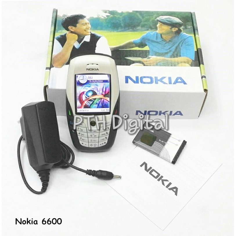 40% OFF [MALAYSIAN SELLER] Original Refurbished Nokia 6600