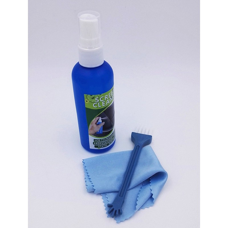 3 in 1 Pack Super Cleaning kit for LCD Laptop Screen phone screen with brush cloth