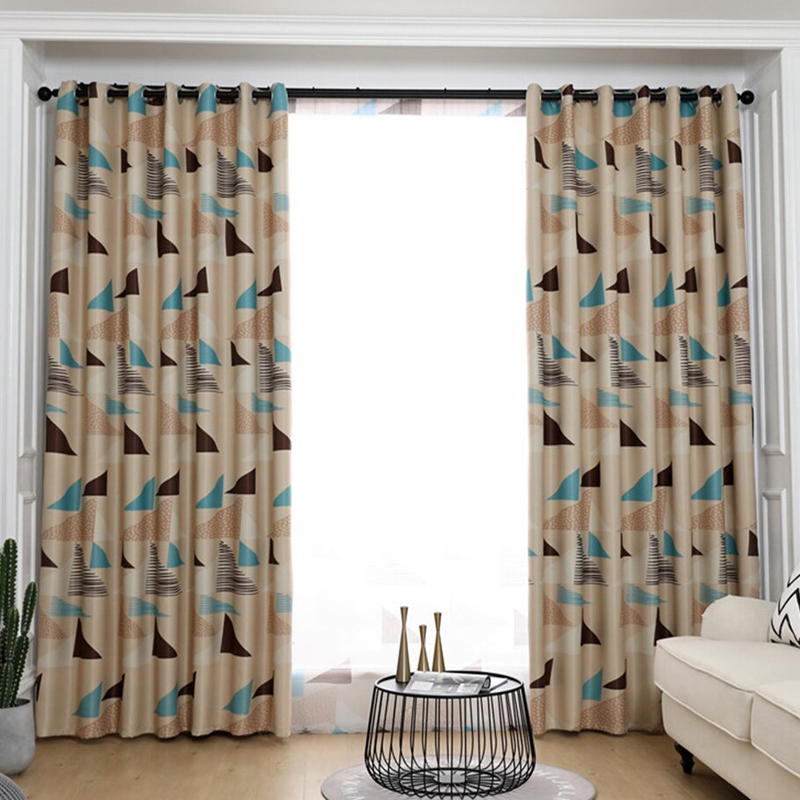 GDeal Bedroom Living Room Full Shading Curtains Blackout Window Insulation Curtain Langsir (120cm x 210cm)