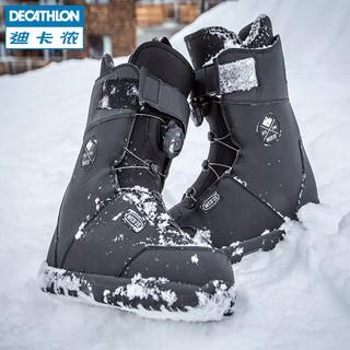 rencontrer prix limité économiser jusqu'à 60% Decathlon ski snowboard boots men BOA system men's ski shoes veneer shoes  WEDZE1