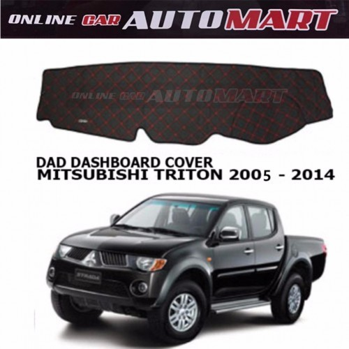 DAD Non Slip Dashboard Cover - Mitsubishi Triton Yr 2007-2014