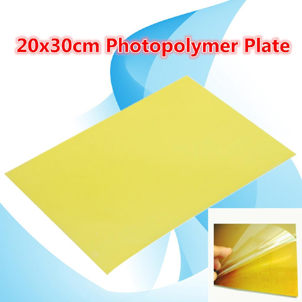 ✨GM✿ 20x30cm Resin Stamp Making DIY Photopolymer Plate