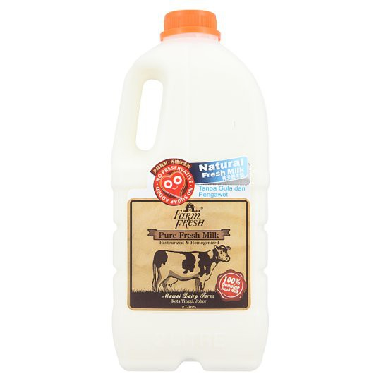Farm Fresh Pure Fresh Milk 2 Litres Shopee Malaysia