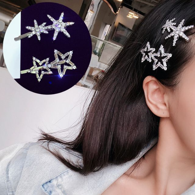 WOMENS FASHION FIVE-POINTED STAR HAIRPIN HAIR CLIP ACCESSORIES HEAD DRESS NICE