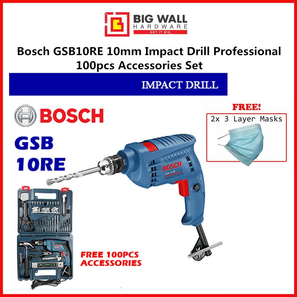 BOSCH Impact Drill GSB 10RE Big Wall Hardware