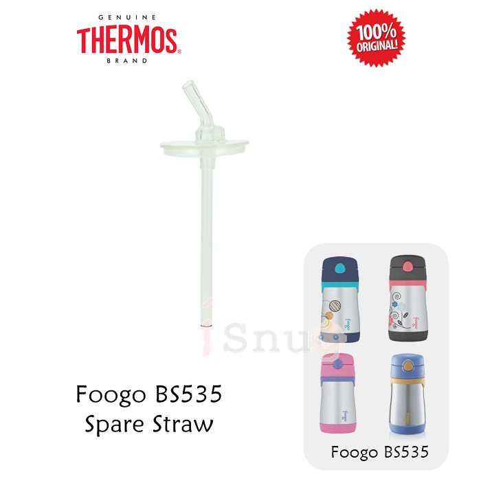 Thermos Spare Parts : Thermos Foogo Straw Bottle Replacement Straw (Model  BS535)