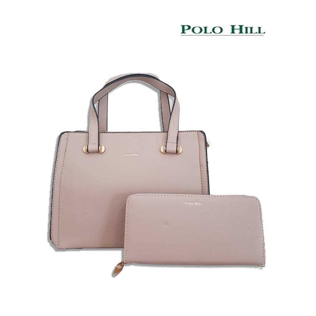 58b72ae368e Polo Hill Handbag PHH2291   Shopee Malaysia