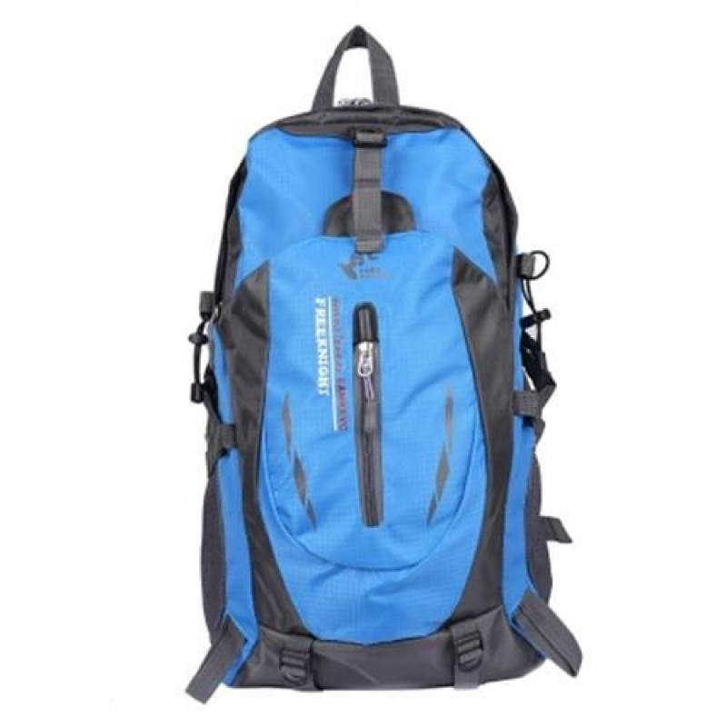 FREE KNIGHT 30L WATER RESISTANT SPORT BACKPACK RUCKSACK BAG (BLUE)