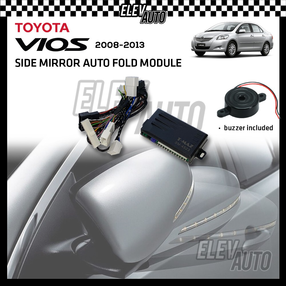 Side Mirror Auto Fold Module with Buzzer Toyota Vios 2008-2013