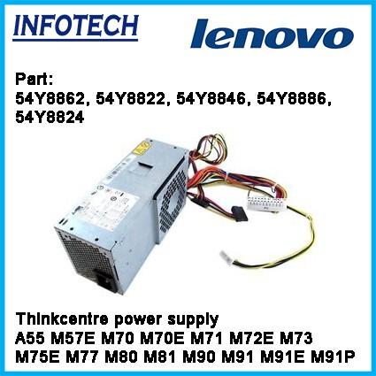 Lenovo ThinkCentre A55 M57E M70 M70E M71 M72E M73 M75E M77 SFF Power Supply  240W