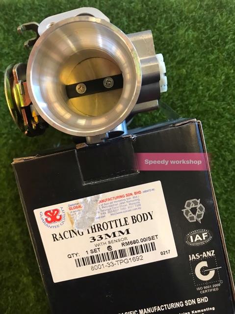 SYS Throttle Body Y15Zr 33mm